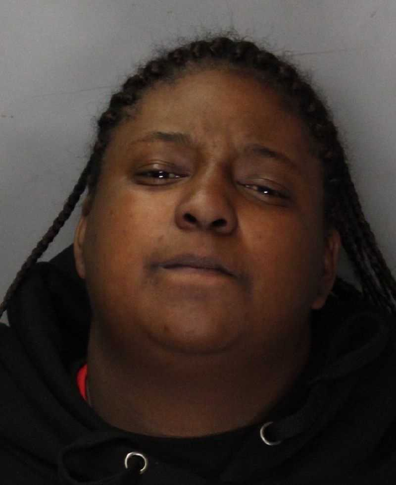 Tatiana Lee, 24, was arrested on conspiracy charges after officers detained her, and a second suspect on suspicion of discharging a firearm. Witnesses helped officers identify the two suspects and locate the gun. Officers said she was with a man who fired a gun inside a parking garage in a celebratory manner.