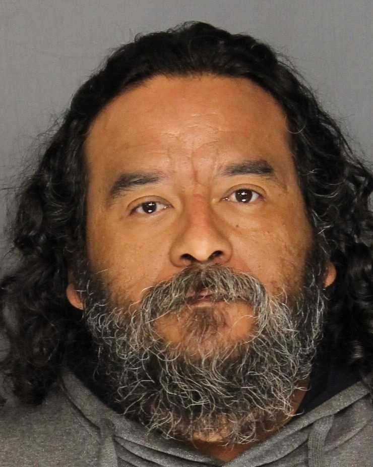 Vincent Arc, 41, was arrested on weapons charges, Stockton police said. Officers said they responded to reports of shots fired and heard multiple gunshots in a neighborhood and saw Arc discard a handgun into a shrub before arresting him.