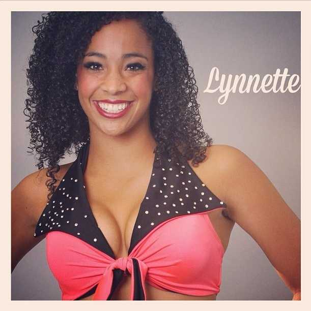 Meet Lynnette, and go here to see more photosof the 49ers' Gold Rush cheerleaders.