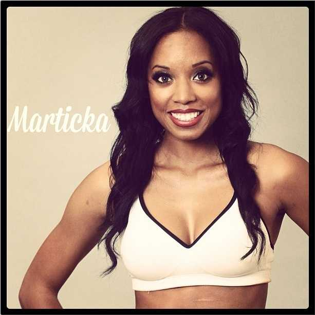 Meet Marticka, and go here to see more photosof the 49ers' Gold Rush cheerleaders.