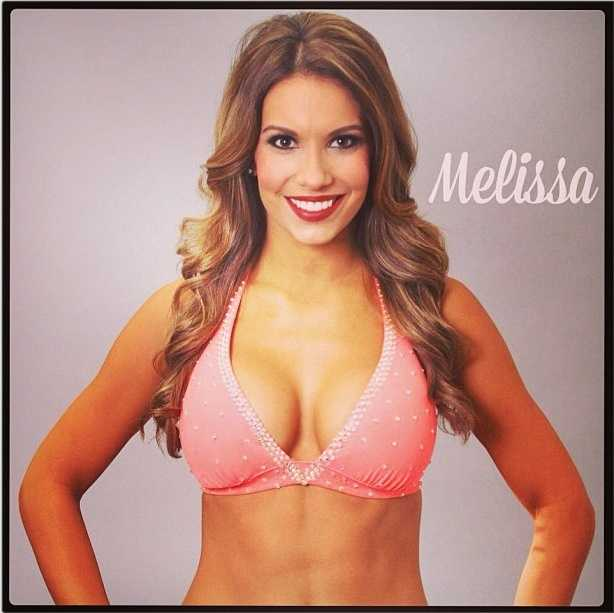 Meet Melissa, and go here to see more photosof the 49ers' Gold Rush cheerleaders.