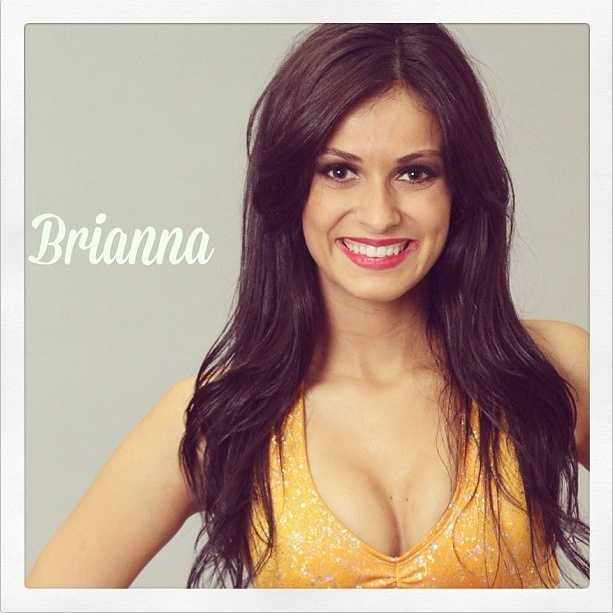 Meet Brianna, and go here to see more photosof the 49ers' Gold Rush cheerleaders.