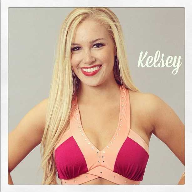 Meet Kelsey, and go here to see more photos of the 49ers' Gold Rush cheerleaders.