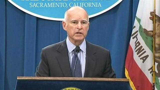 Despite surging state revenue, Gov. Jerry Brown is pledging a somber approach to the windfall of funds. Here are some of the comments he made when he introduced his budget proposal Thursday.