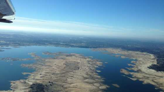 Folsom Lake was at less than 20 percent of total capacity to start 2014.