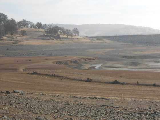 Low levels at Folsom Lake in 2013-14 caused water districts to begin enforcing water restrictions around the area.