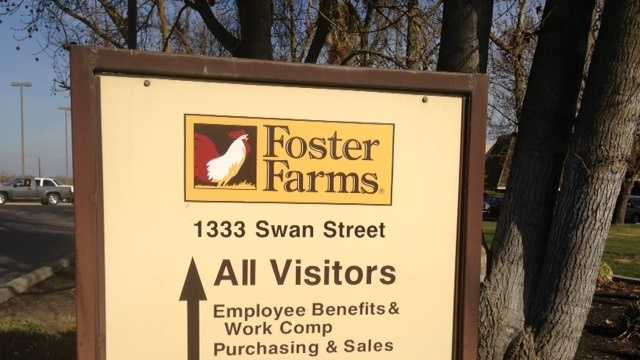 Foster Farms facility in Livingston