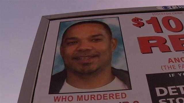 Stockton homicide billboard