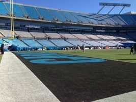 The San Francisco 49ers and Carolina Panthers square off in Charlotte on Sunday.