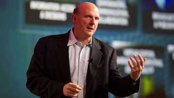 The power CEO in the Seattle area is Microsoft's Steven Ballmer, who nearly helped purchase and relocate Northern California's Sacramento Kings. He was named the 21st richest person in America by Forbes Magazine.
