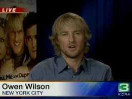 Actor Owen Wilson has been seen wearing 49ers gear, and even crashed the team's locker room with Vince Vaughn in 2012.