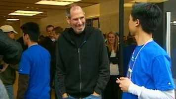 One of the most famous people born in San Francisco: Steve Jobs.