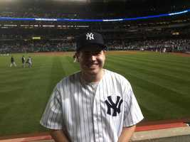 10.) I love baseball. I was born and raised a New York Yankees fan, and I expect that I will probably be buried in pinstripes, as well. Last year I went to New York and got to see one of my favorite players, Mariano Rivera, pitch what would be one of his last saves. Chief Meteorologist Mark Finan is probably groaning right now, but it's because Boston lags behind the Yankees by 19 world championships.