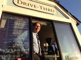 Gary Davis is the new owner of a coffee kiosk at the corner of Elk Grove Boulevard and Elk Grove-Florin Road in the Old Town area of Elk Grove.