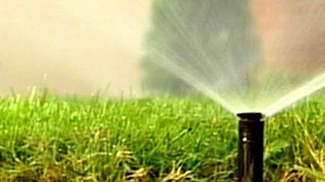 Yard Sprinklers