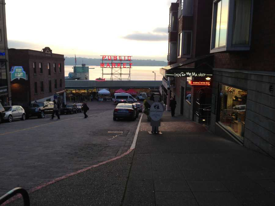 KCRA's Mallory Hoff spent some time on Friday touring the city of Seattle.