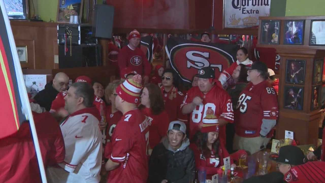 49ers team owner John York was in Seattle with hundreds of 49ers fans getting ready to watch tomorrows big game against the Seahawks.