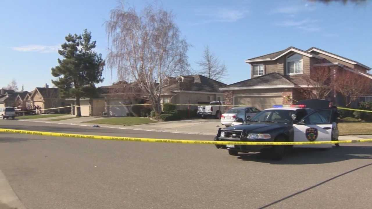 Lodi police shot and killed a man who they said confronted them in a quiet neighborhood near Peterson Park on Saturday morning (January 2014).