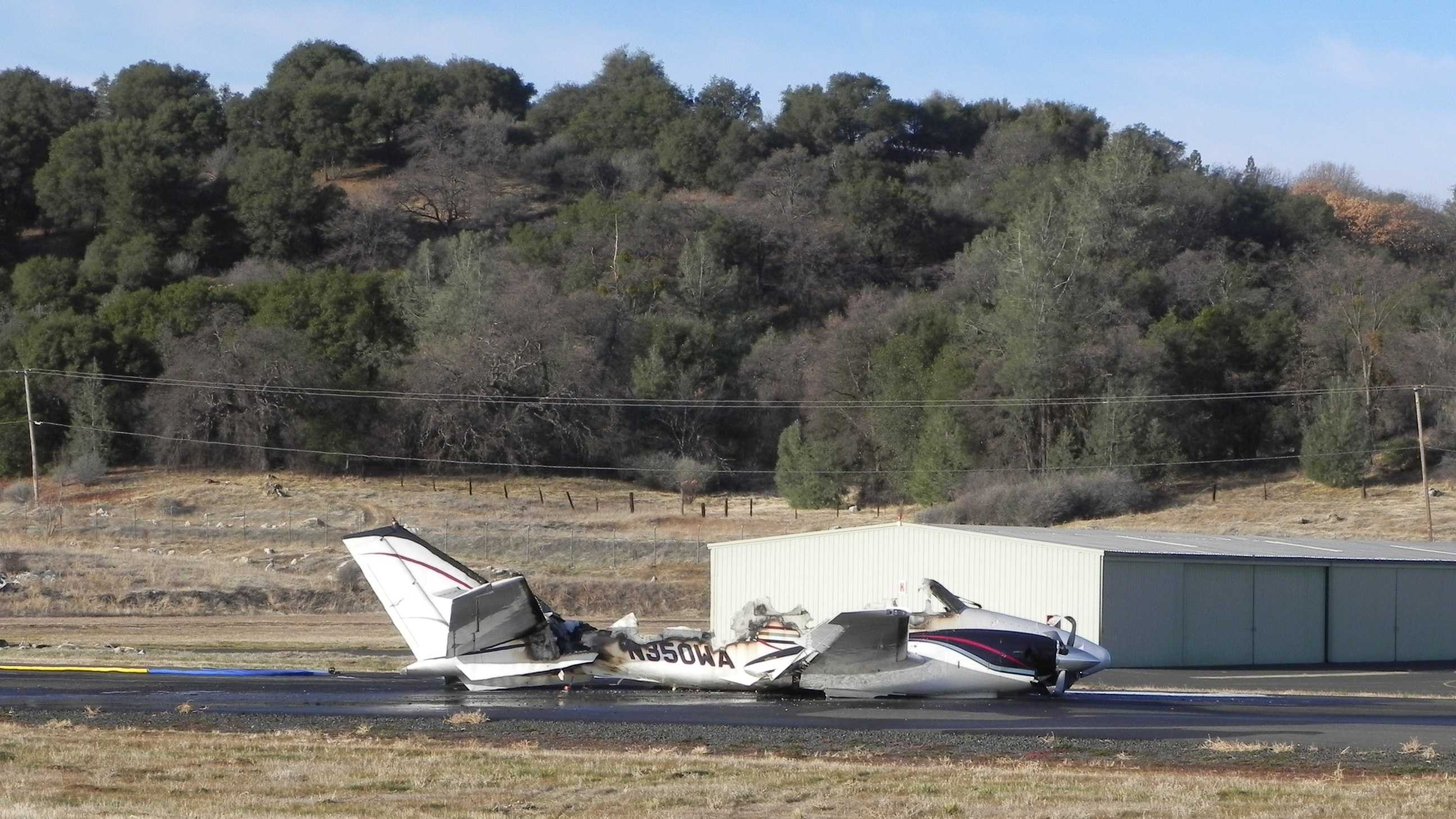 A small plane crashed at the Columbia Airport Monday morning.