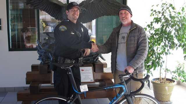 Truckee police recovered a $9,000 bike that was stolen from a bicycle shop in Reno.