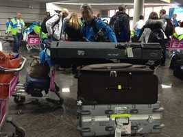 KCRA 3's Deirdre Fitzpatrick and Mike Domalaog touch down in Sochi for the 2014 Winter Olympics.