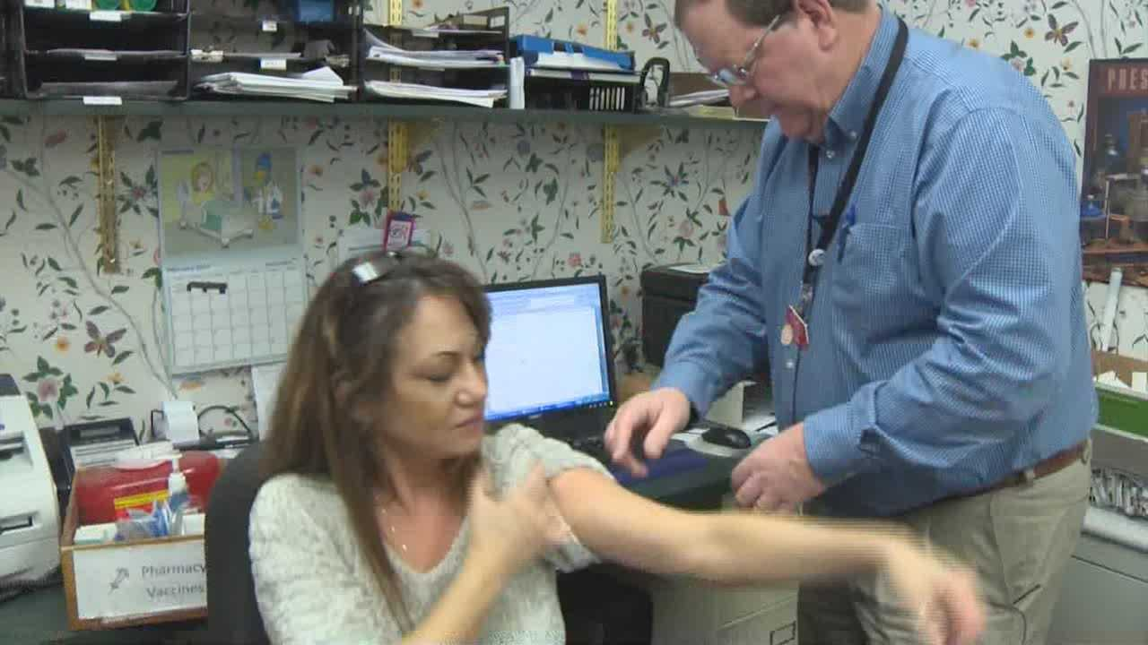 Are myths about flu shots keeping people away?