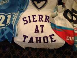 Snowboarder Jamie Anderson trained for the winter Olympics at Sierra at Tahoe.