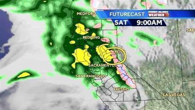 Meteorologist David Biggar takes us through the rain, snow, and wind expected today.