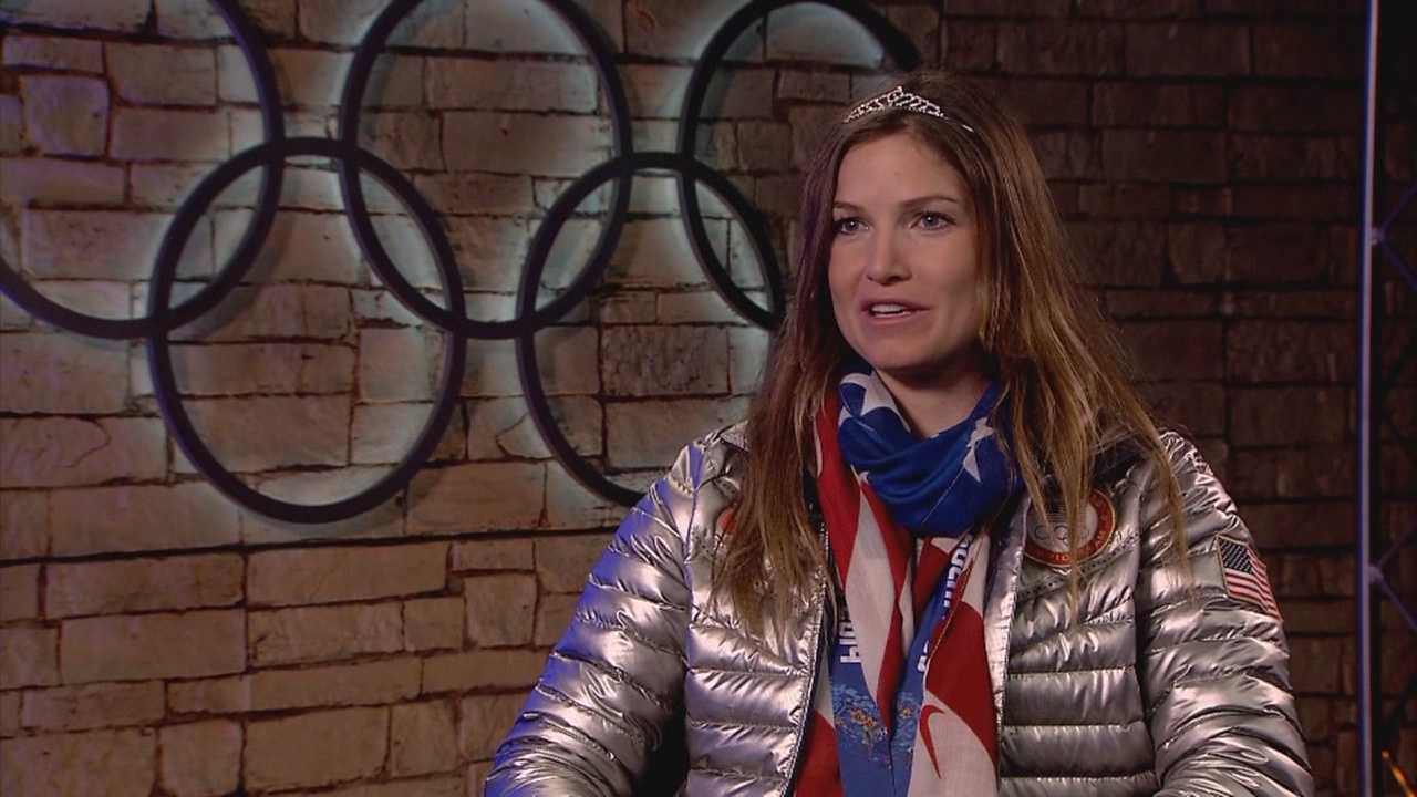 On Wednesday, Squaw Valley's Julia Mancuso will go for medal number five when she competes in the women's downhill. Mancuso won bronze in Monday night's Super Combined. She sat down with KCRA 3's Deirdre Fitzpatrick in Sochi to chat about how support from home has given her a big boost.