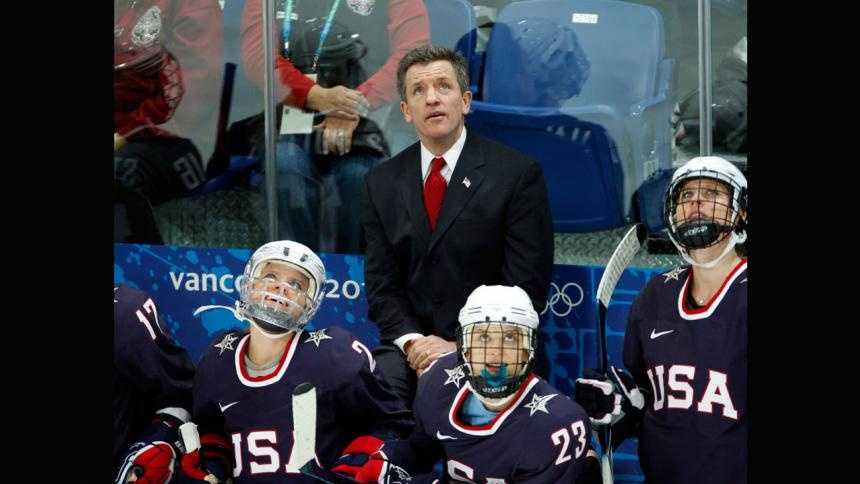 Women's hockey Team USA