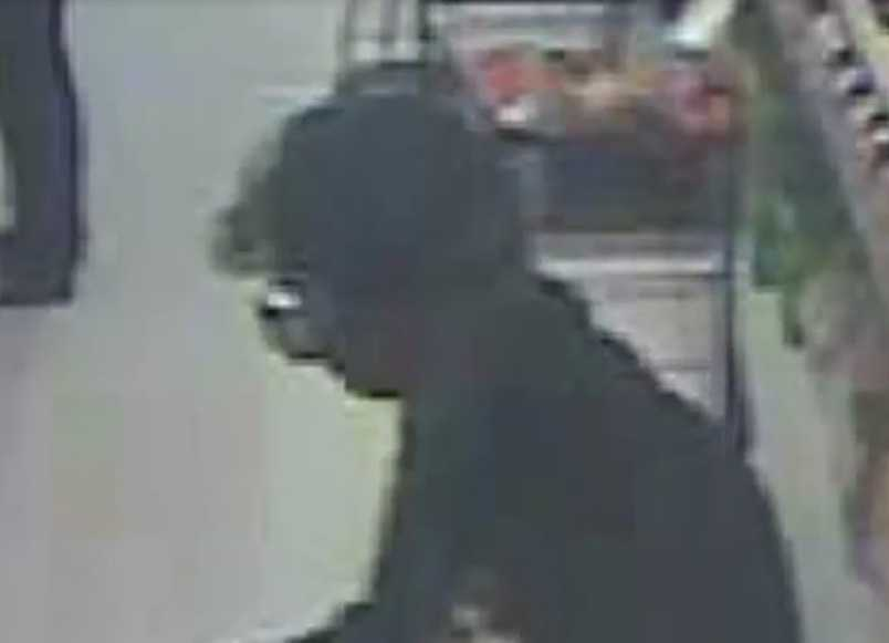 McCamey was identified as a person of interest in the case after police released images of the shoplifter.