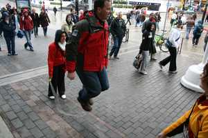 KCRA's Brian Hickey jumped rope while in Vancouver for the 2010 Winter Olympics.