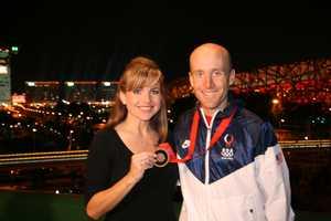 Cyclist Levi Leipheimer spoke with Deirdre at the 2008 Beijing Olympics.