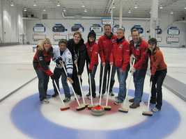 The KCRA 3 team joined other members from Hearst for some curling in Vancouver in 2010.