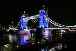 KCRA's Deirdre Fitzpatrick and Brian Hickey went to the 2012 Summer Olympics in London. The Tower Bridge held the Olympic rings during the games.