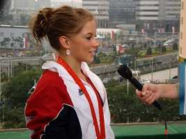 At the 2008 Bejing Olympics, USA's Shawn Johnson won one gold and three silver medals.