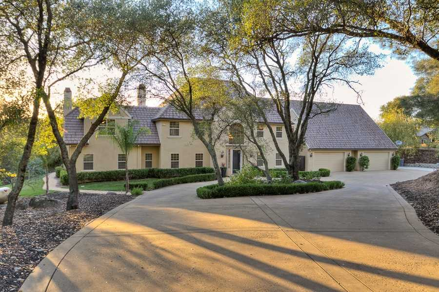 Check out this week's Mansion Monday, a luxurious two-story Mediterranean-style home nestled among oaks in the exclusive gated community of Loomis Hills.