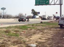 Officers Juan Gonzalez and Brian Law were heading southbound to the crash site on Highway 99 near the Central Valley town of Kingsburg, less than 25 miles from Fresno when their car overturned, CHP Capt. Dave Paris said (Feb. 17, 2014).