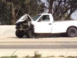 The California Highway Patrol is mourning the loss of two officers Monday after their squad car flipped over while responding to a multi-vehicle wreck on Highway 99 (Feb. 17, 2014).