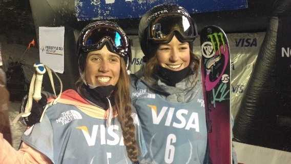 Maddie Bowman and Brita Sigourney