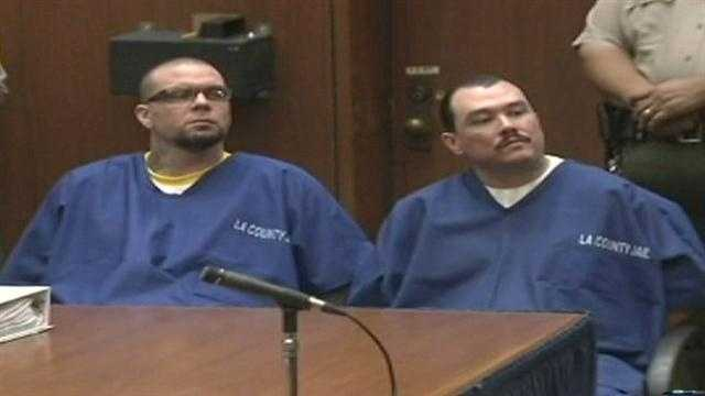 Defendant Marvin Norwood and co-defendant Louis Sanchez pleaded guilty Thursday in the beating of San Francisco Giants fan Bryan Stow.