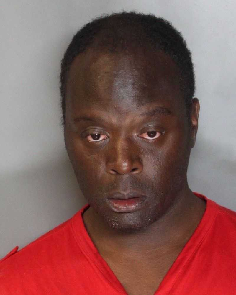 Lamont Hampstead was arrested on suspicion of punching a Sacramento police officer while intoxicated, police said.