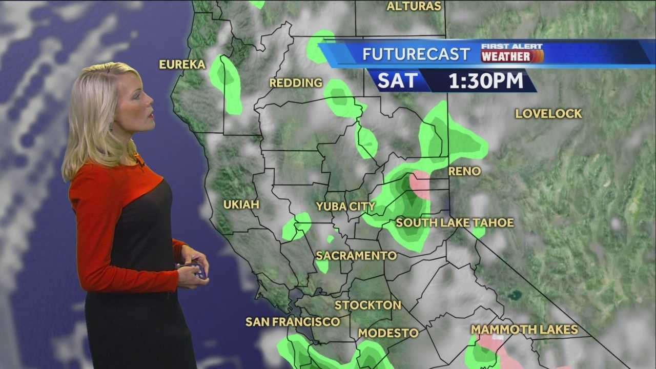 KCRA 3 meteorologist Tamara Berg says moderate and heavy rain will continue Friday in the Valley.
