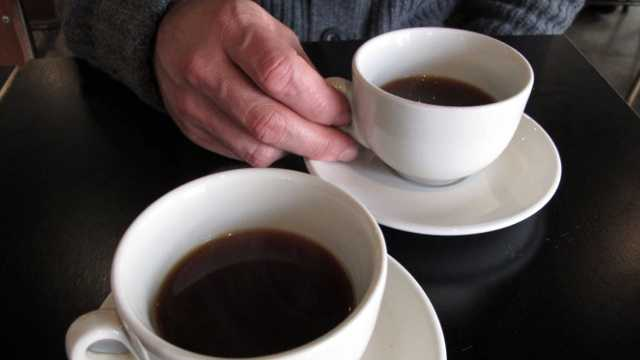 Coffee closeup