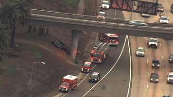 A fatal crash along Highway 50 in Sacramento has closed the highway's offramp early Wednesday morning.