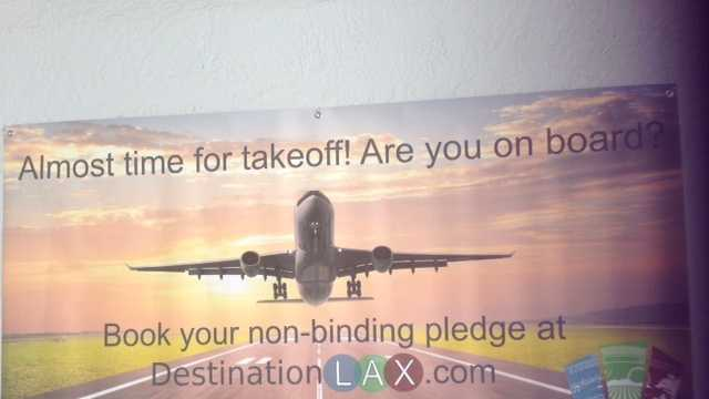 Non stop flights from Modesto to L.A.?