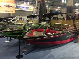 Dozens of manufacturers are represented at the annual show.