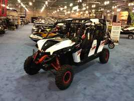 Off-road vehicles also take center stage next to personal watercraft and motorcycles.