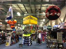 Boat owners will find thousands of skis, boards and inflatable toys to choose from.