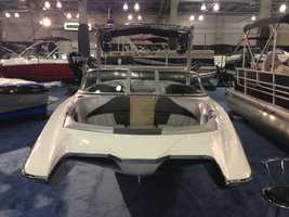 Hundreds of boats are on display at the 2014 Sacramento Boat Show.